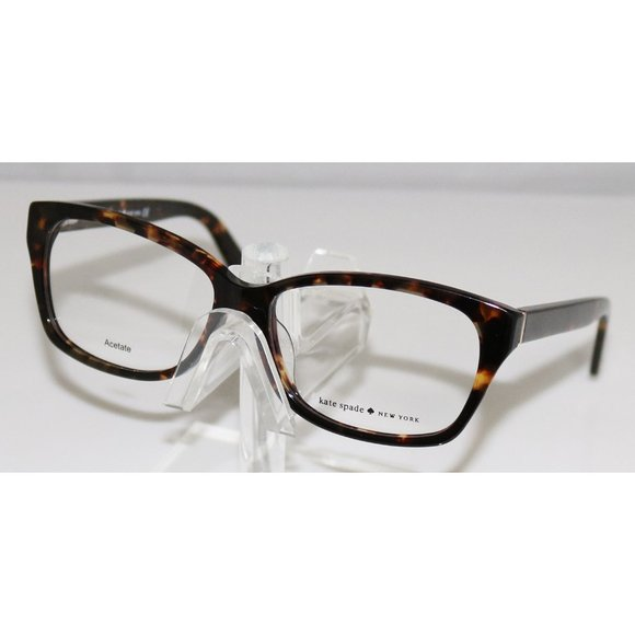 New Kate Spade Dark Havana Eyeglasses